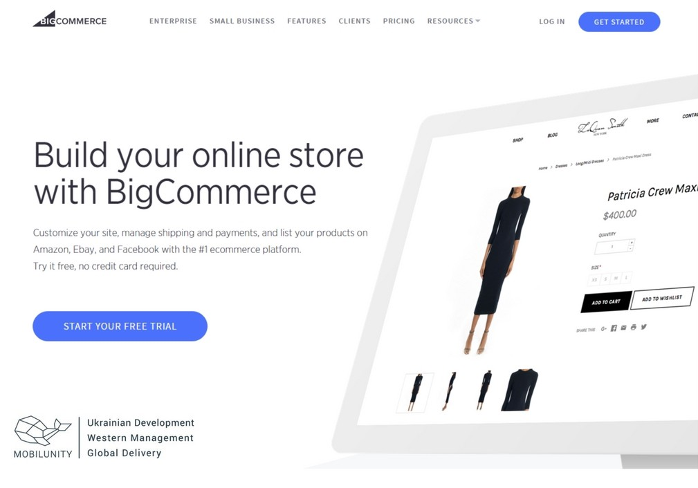 you can use big commerce to build marketplace website for your business