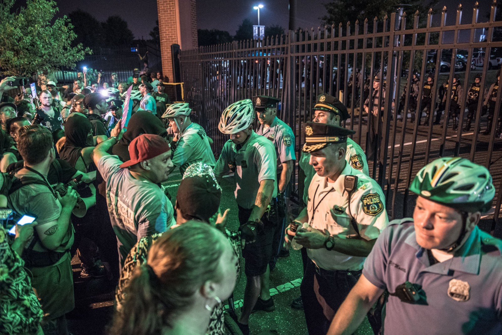 Philadelphia Police cite 106, arrest none during DNC