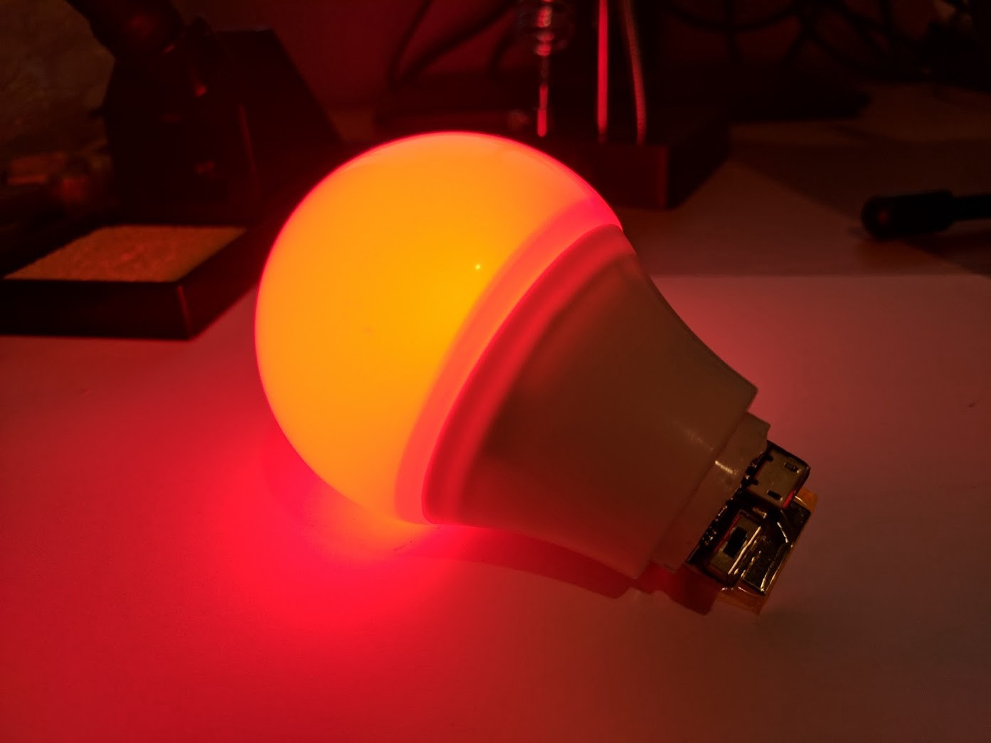 How To Make Your Very Own Wireless Extra Magic Smart Bulb A Simple Circuit Onoff Switch For Lightbulb Batteries Power On