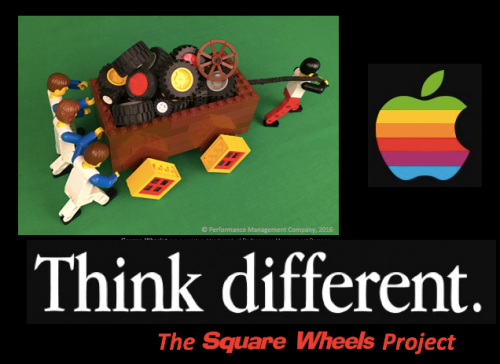 Poster by Scott Simmerman of The Square Wheels Project
