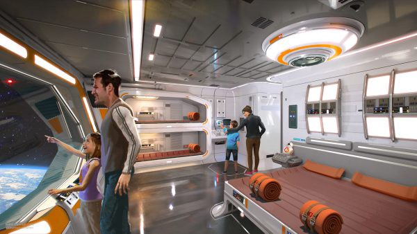 Star Wars Themed Hotel - © Disney