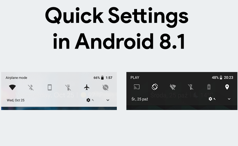 Android 8.1 Features