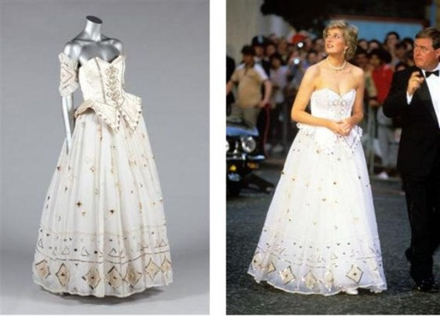 c14fcb45296 It is one of the best and most unique dresses that were especially designed  for Princess Diana. The dress was designed by Catherine Walker who is one of  the ...