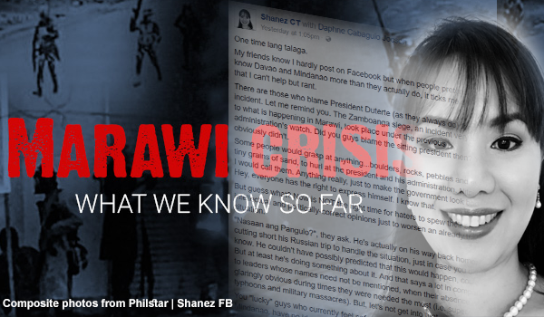 """Davaoeña's message to pretenders: """"I am more scared of terrorists than I am of Martial Law"""""""