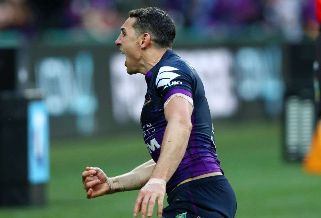 Melbourne Storm Parramatta Eels NRL playoffs 2017 Billy Slater