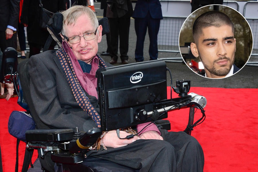 Stephen Hawking Hilariously Addresses Zayn's Exit from One ... TV Guide900 × 600Search by image Stephen Hawking, Zayn Malik (inset)
