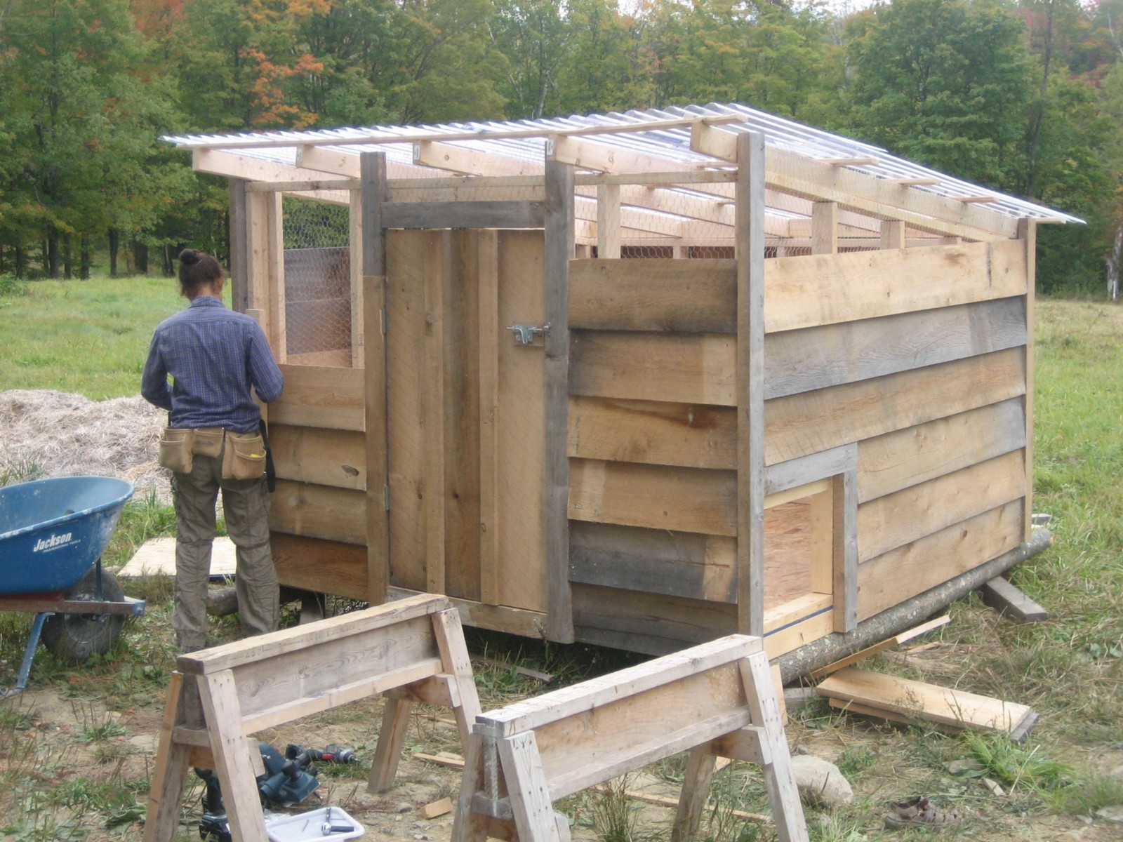Historic hen brooder houses shed style roof esp 1930 s for Shed roof styles