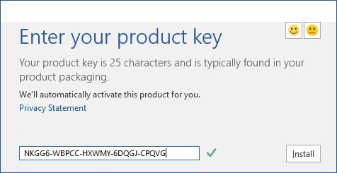 what is a product key for microsoft office