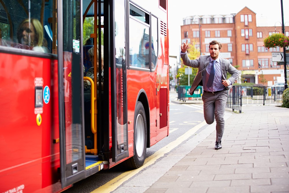 running-after-bus