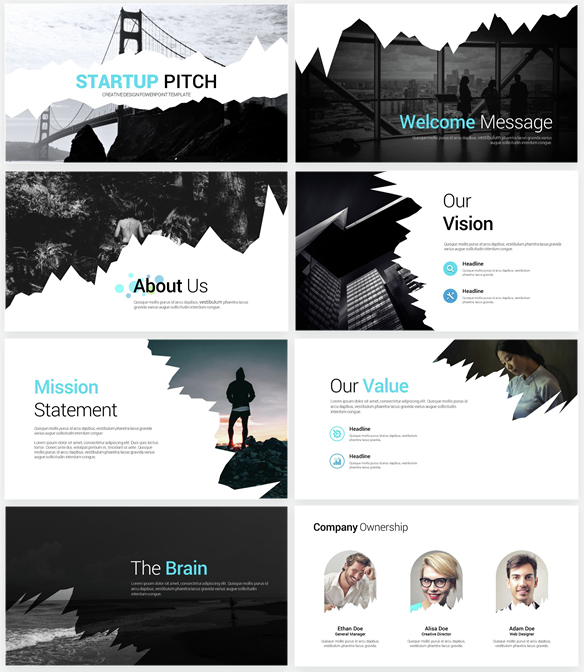 7 insanely creative business plan templates the mission medium flashek Images