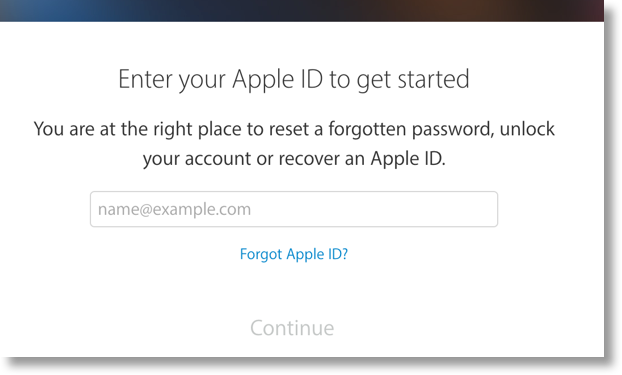 how to recover google password on iphone