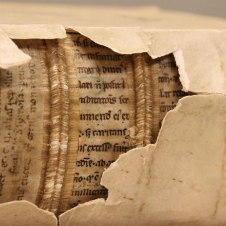 X-rays reveal 1,300-year-old writings inside later bookbindings