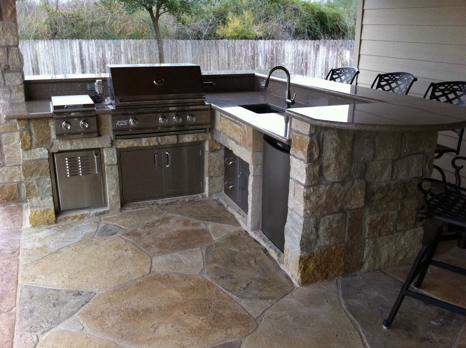 Custom Outdoor Kitchen Quote Waco Outdoorconstructionreviewguide