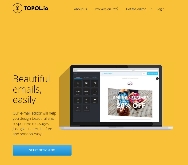 Best Free Email Template Builders For StripoEmail Medium - Free email template editor