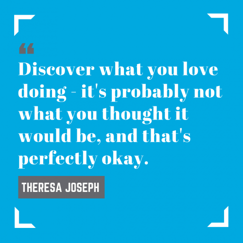 Theresa Joseph Quote Card