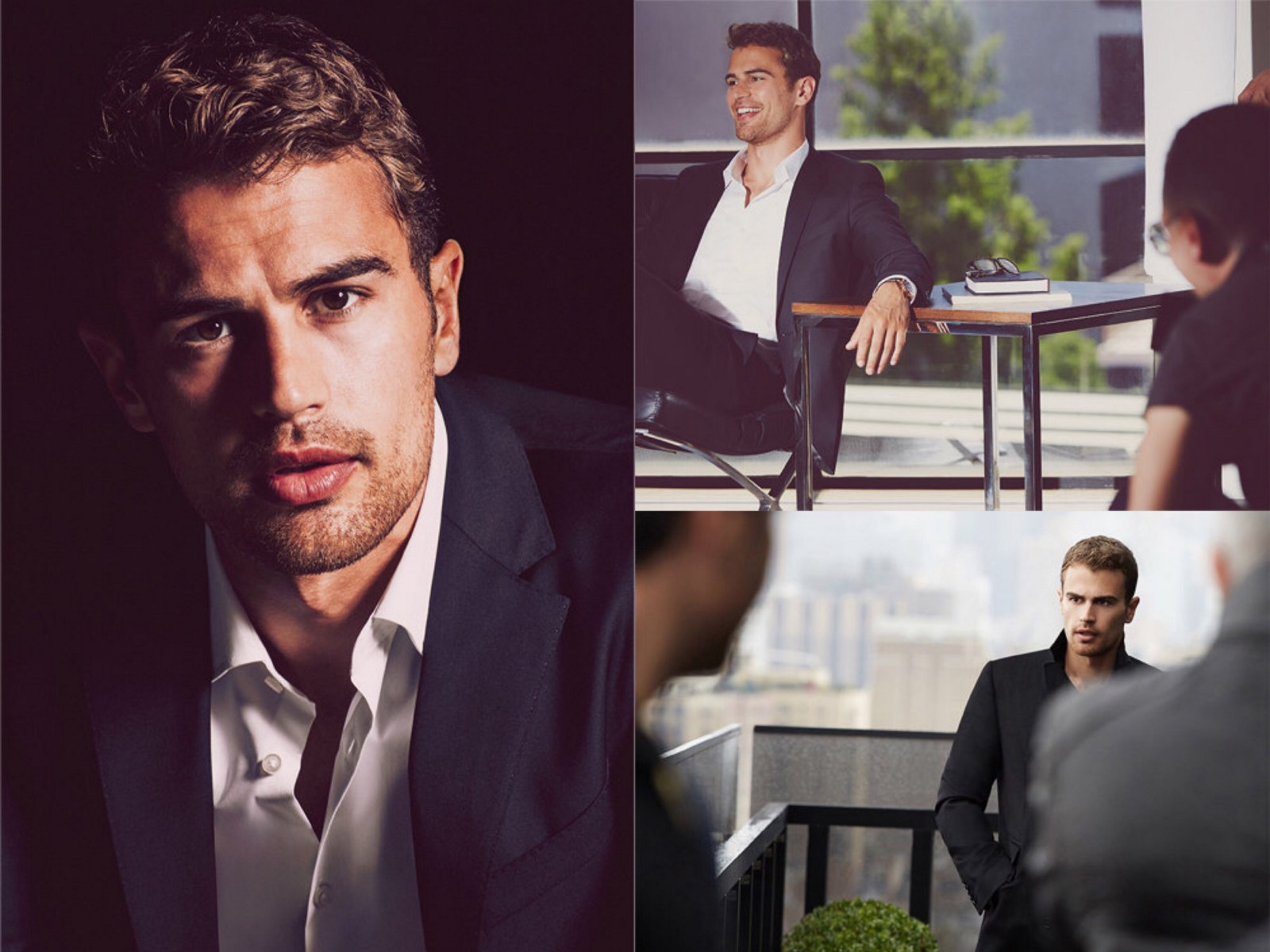 "Super Hugo Boss Interview: Theo James is ""The Mystery Man"" WT01"
