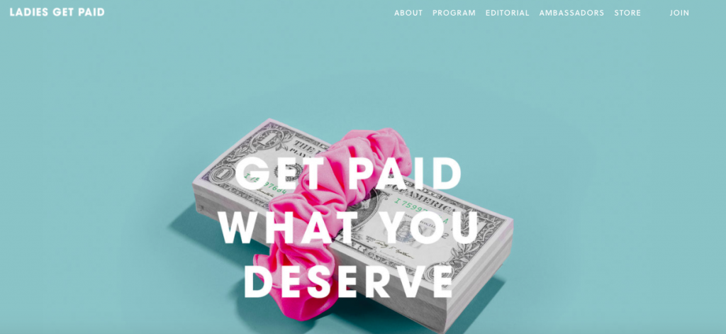 Ladies Get Paid supports women to get paid what they deserve.