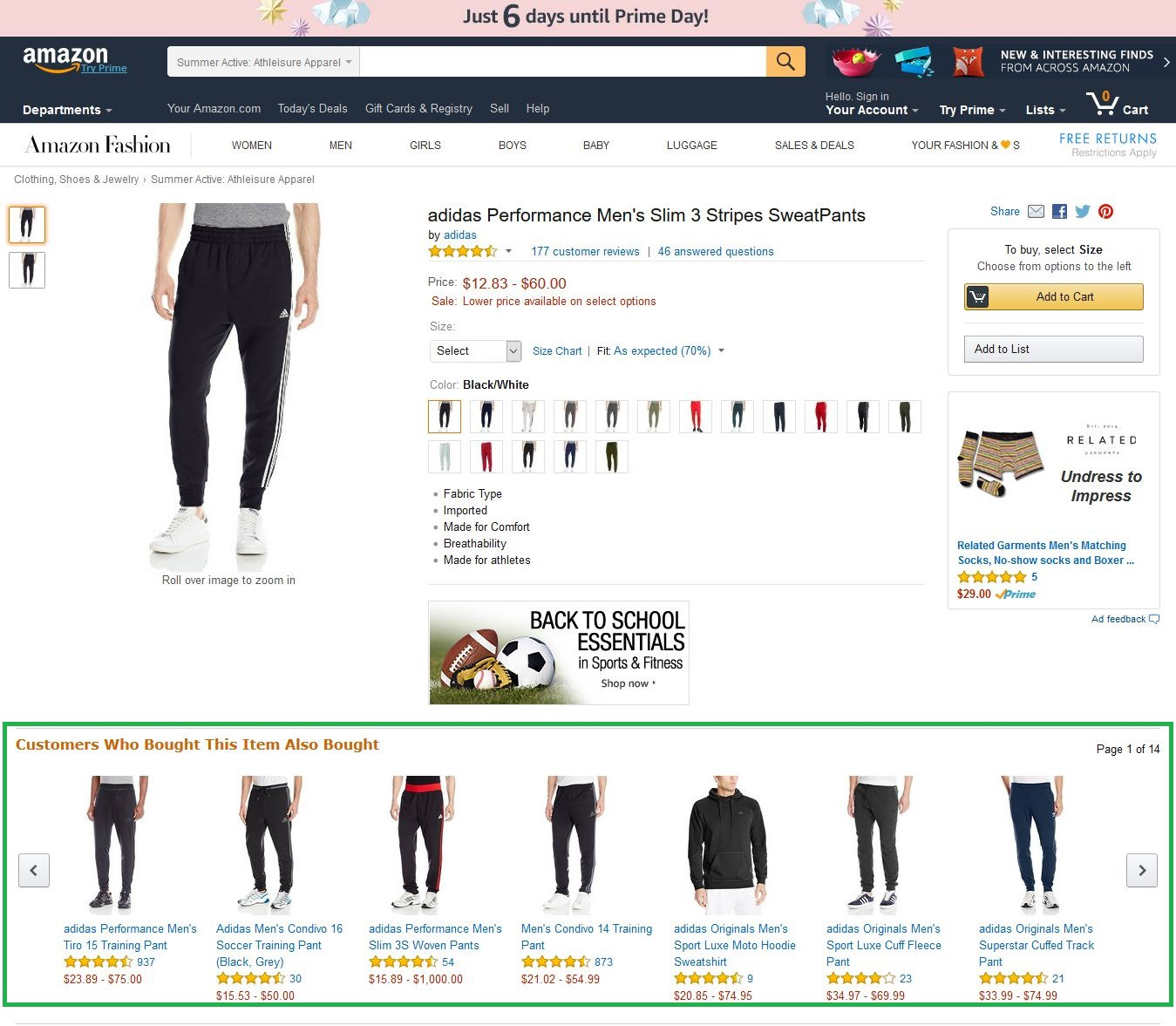 How amazon upselling their products