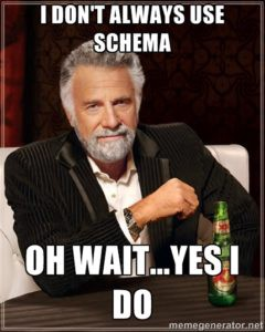 using schema for local businesses