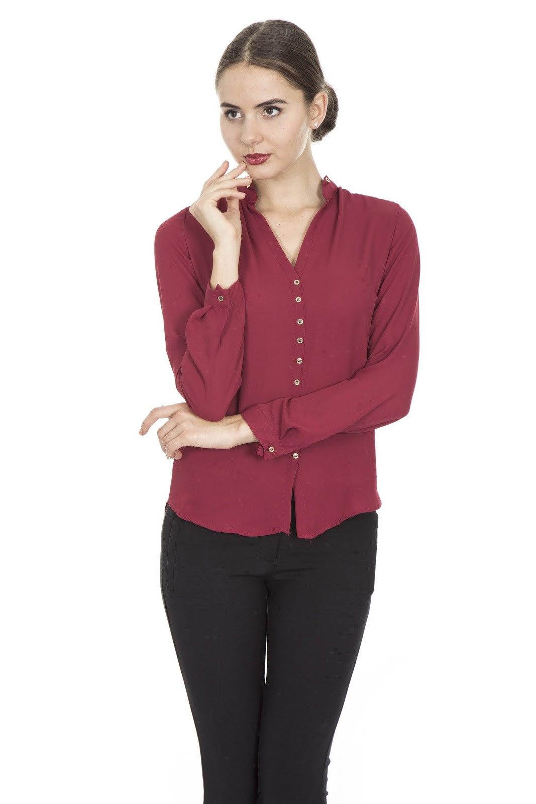 8ae86520134 Cardigans and button-down shirts can serve as your go-to pieces for  professional and business casual wear. These tops also have a fitted look  and fit your ...