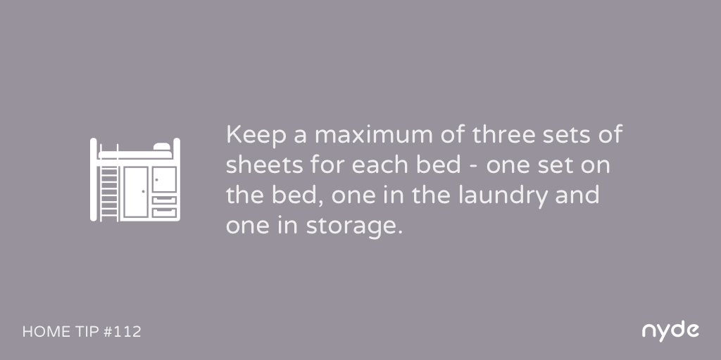 Home Tip #112