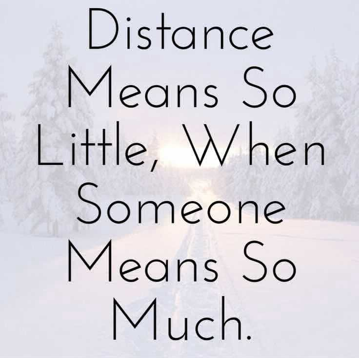 Long Distance Love Sign t