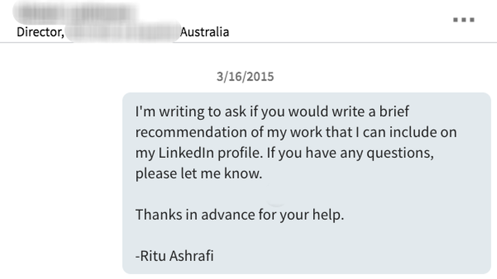 Why asking for a recommendation on LinkedIn is absolutely essential ...
