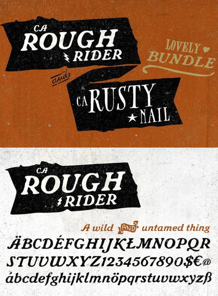 CA Rusty Nail + CA Rough Rider Set by Cape Arcona