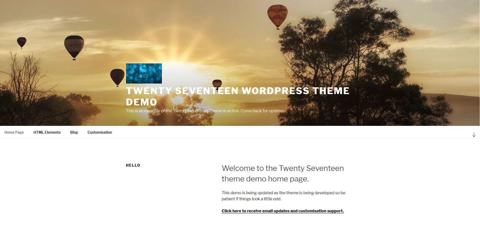 How To Make The Menu Fit The Full Width Of The Screen In Twenty Seventeen - 웹