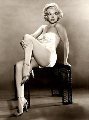Marilyn Monroe Pin Up Girl Shot