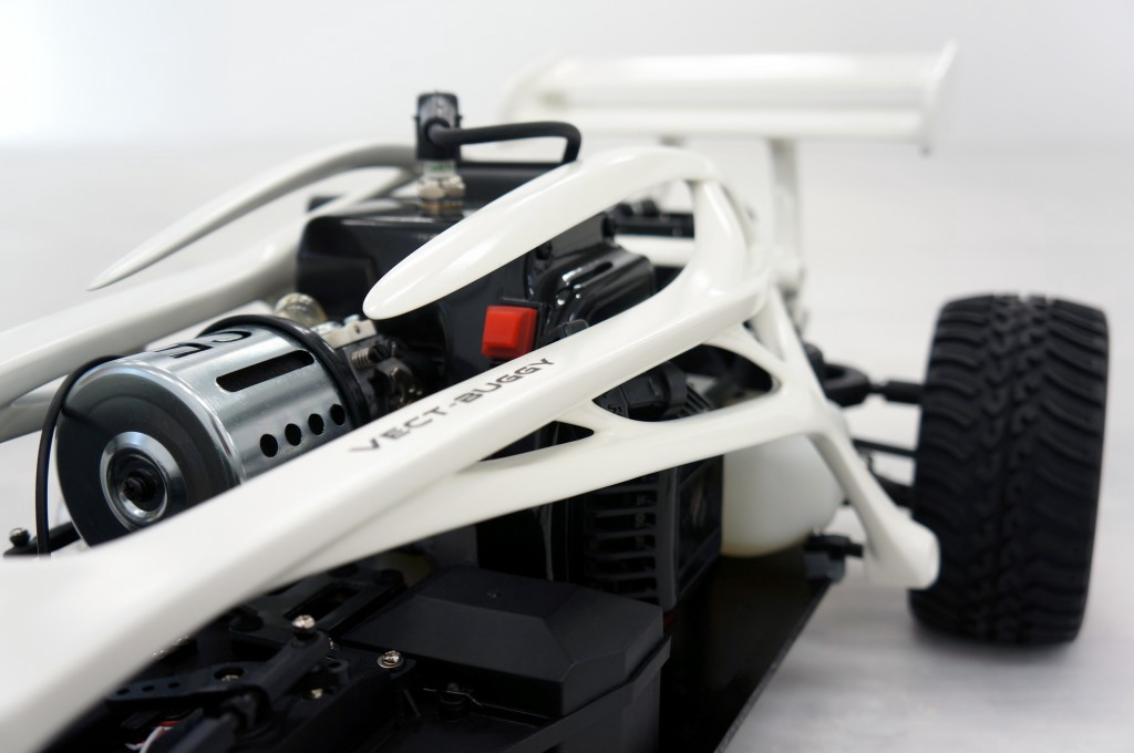 Petrol Rc Buggy Redesigned With Vectary And 3d Printed