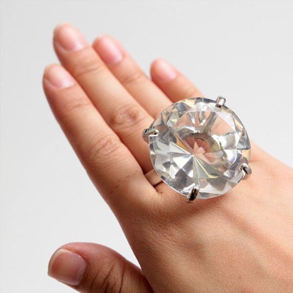 Is Ger Always Better When It Come To Jewelry Global Luxury. Giant Wedding  Ring ...