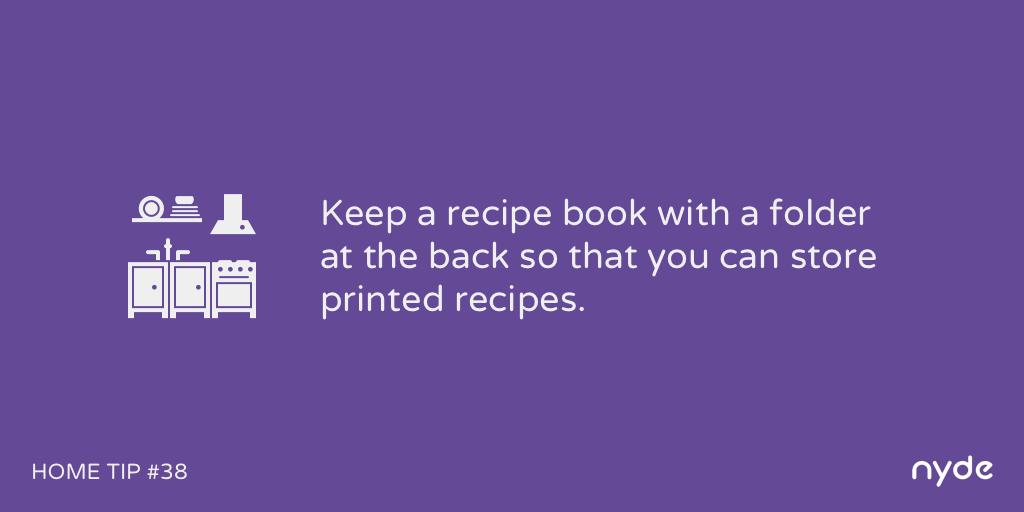 Home Tip #38