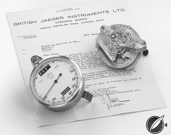 Jaeger automobile instruments from the 1920s