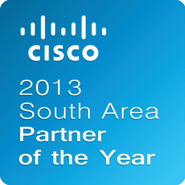 2013 Cisco South Area Partner of the Year_logo