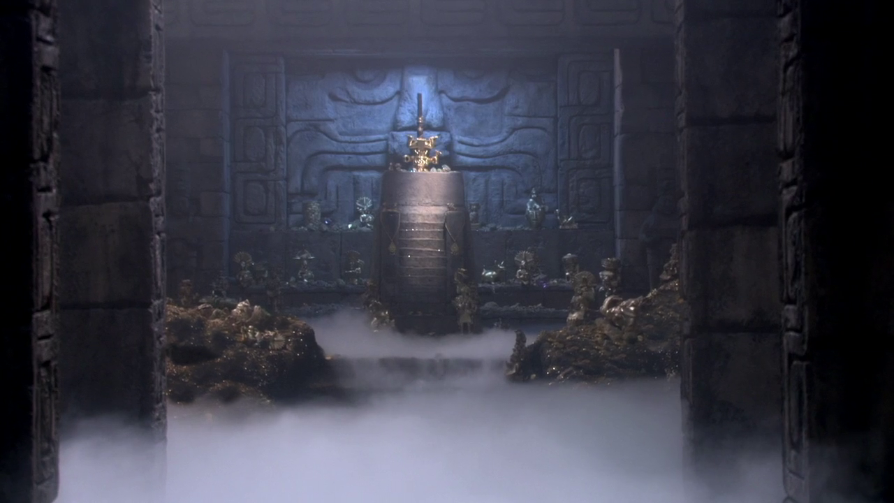 The Treasure of the Temple of the Closed Eye
