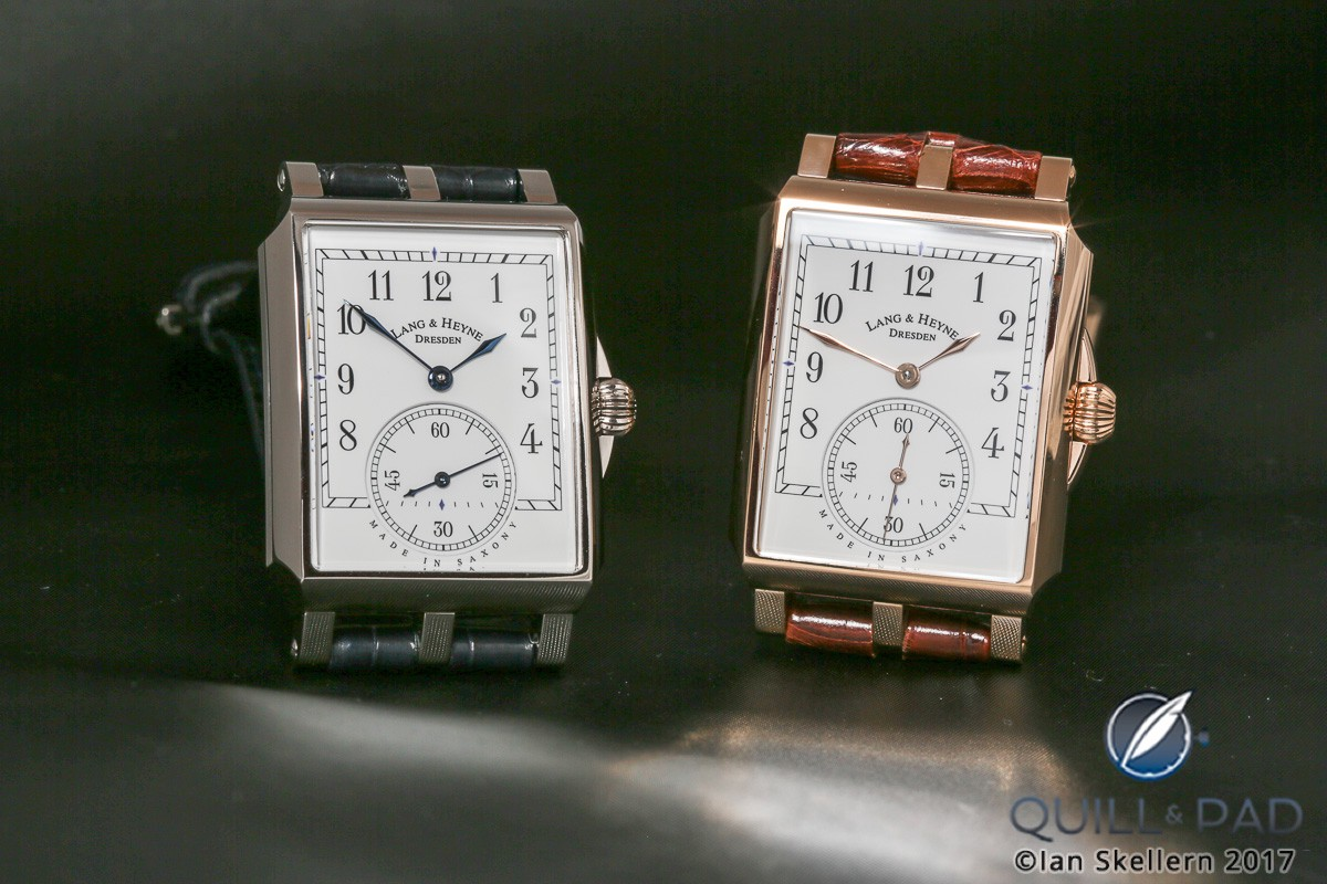 Lang & Heyne Georgs in platinum and red gold