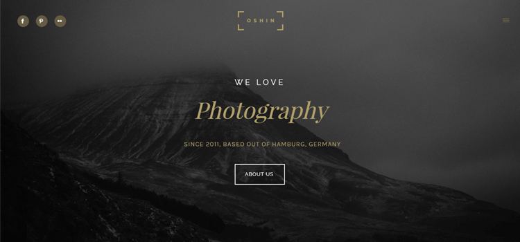 Best Most Favourite Photography Website Templates - Best website templates for photographers
