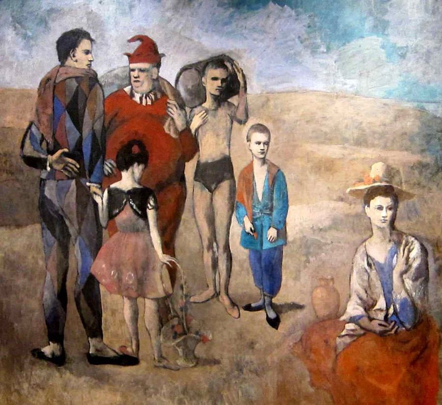 The Family of Saltimbanques, 1905 by Pablo Picasso