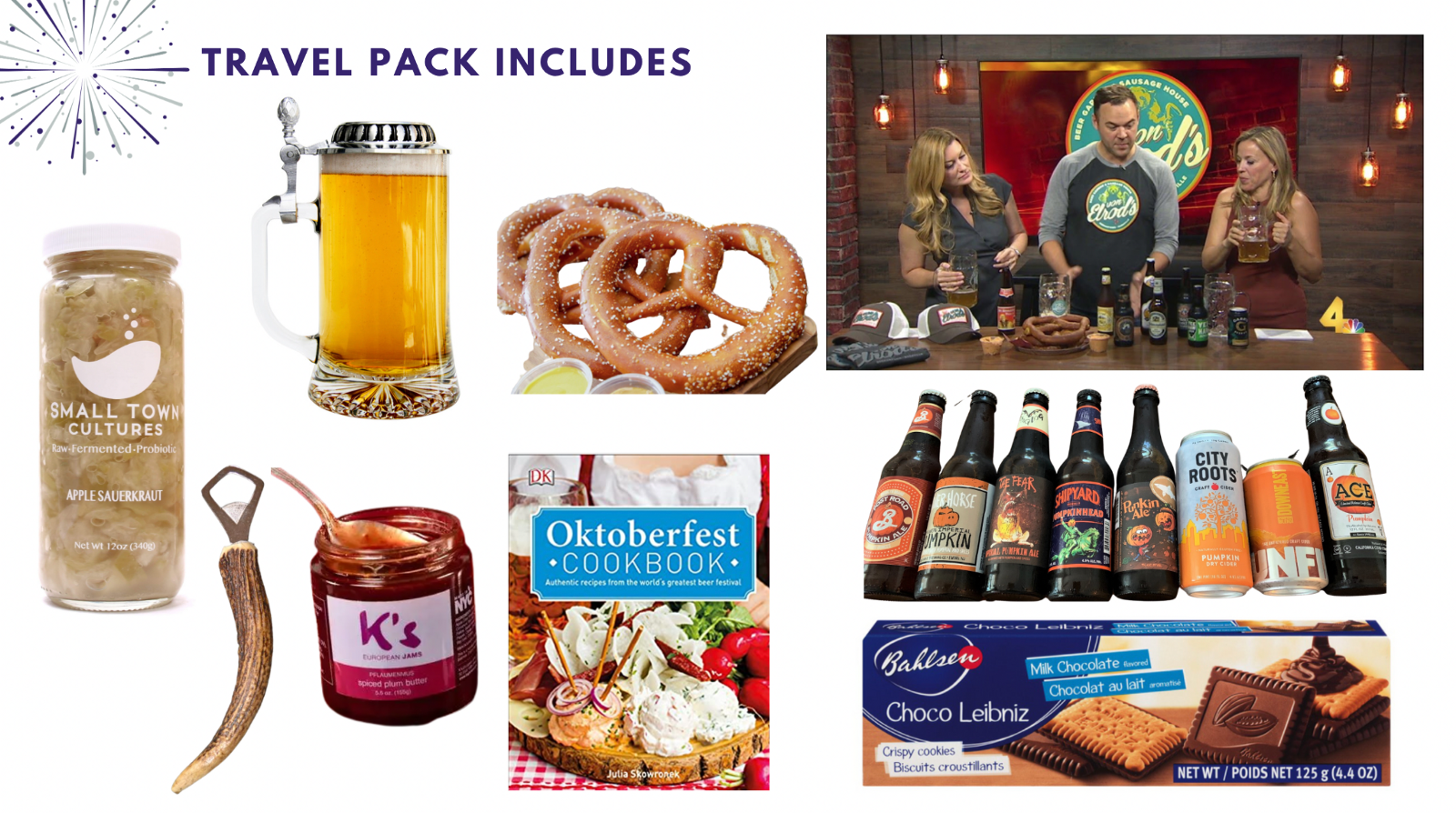 Oktoberfest party pack for fall team building event—Book with Eva and Spark by Designs