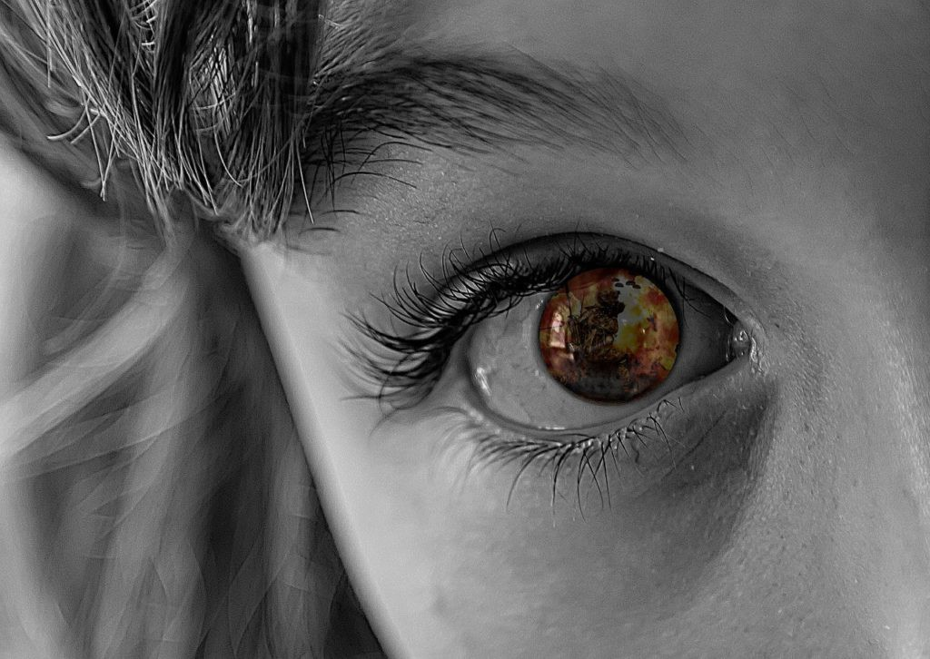 Eye Two Sides to Truth