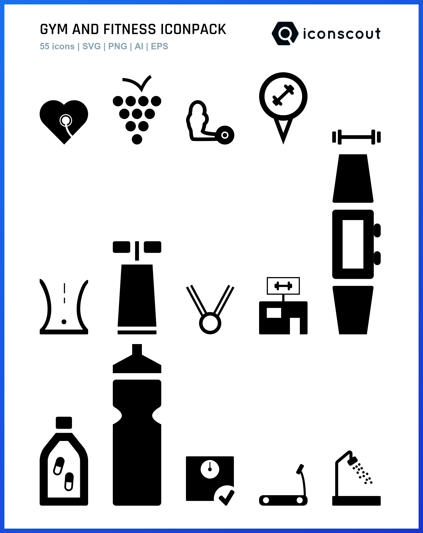 Gym And Fitness icons by Ismael Ruiz