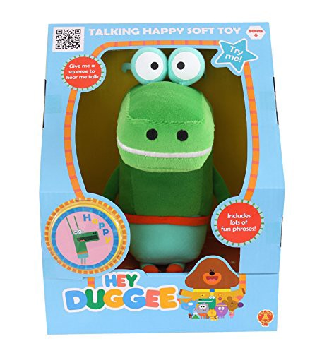 Hey Duggee Talking Happy Soft Toy