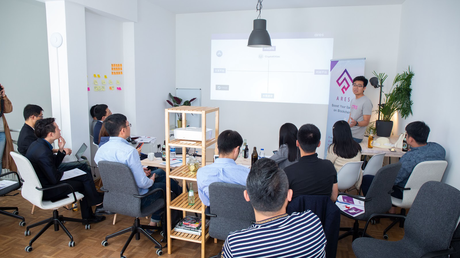 Ares Gmbh international investor delegation visited ares tech upon ares