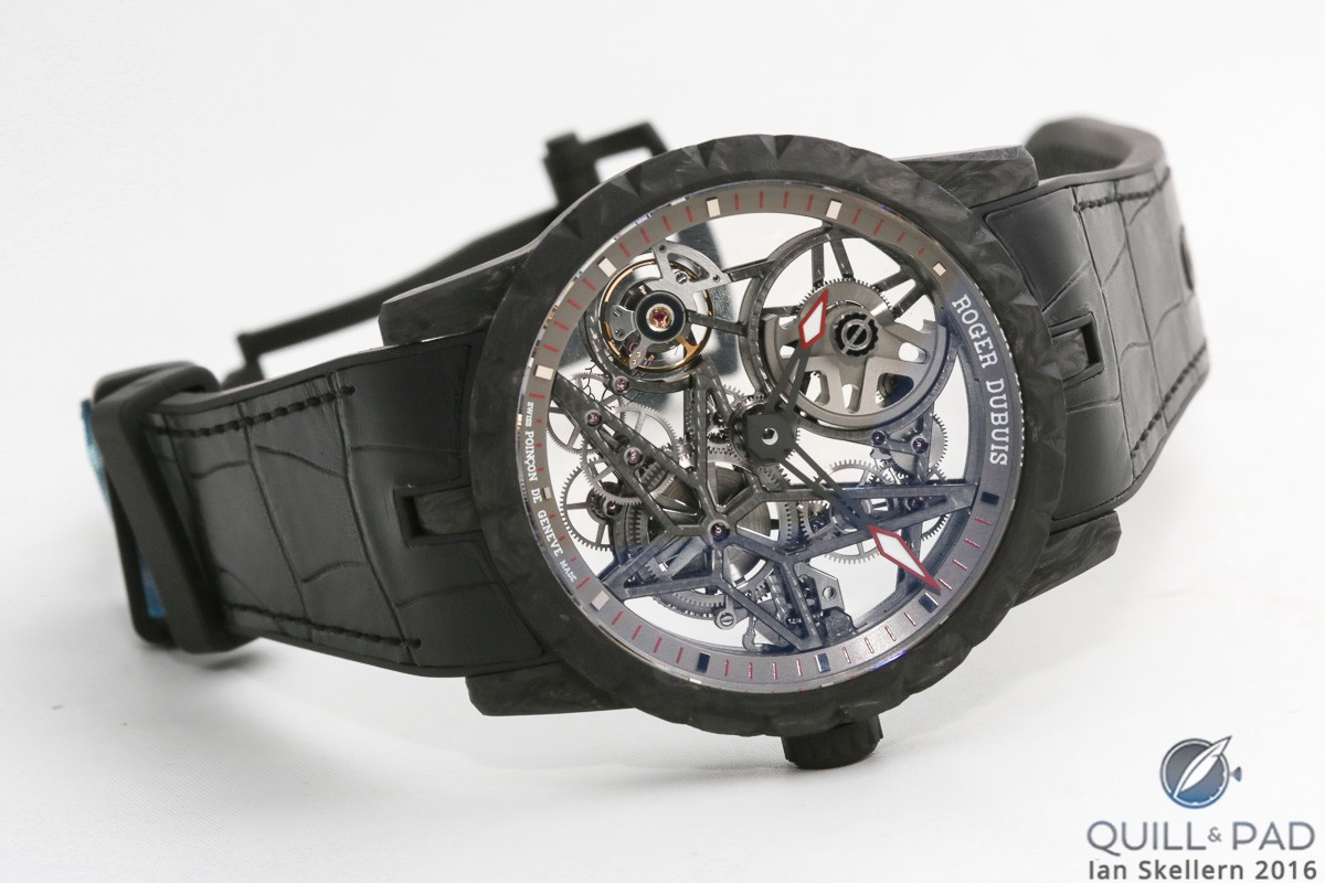 Excalibur Automatic Skeleton Carbon by Roger Dubuis