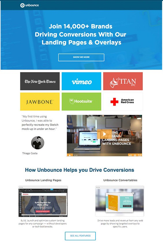 5 bottlenecks to eliminate and create landing pages that convertsUnbounce Review The Only Landing Page Builder Youd Ever  348588 #3
