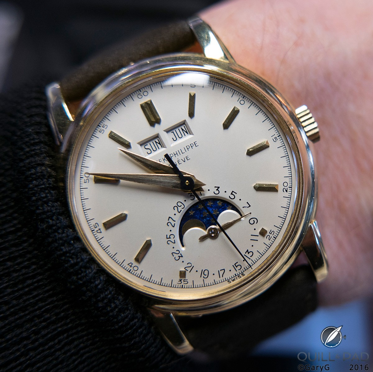 Maybe next time: a Patek Philippe Reference 2438-1 from the Phillips Geneva Auction: Four