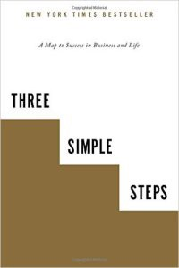 Book Cover: 3 Simple Steps: A Map to Success in Business and Life