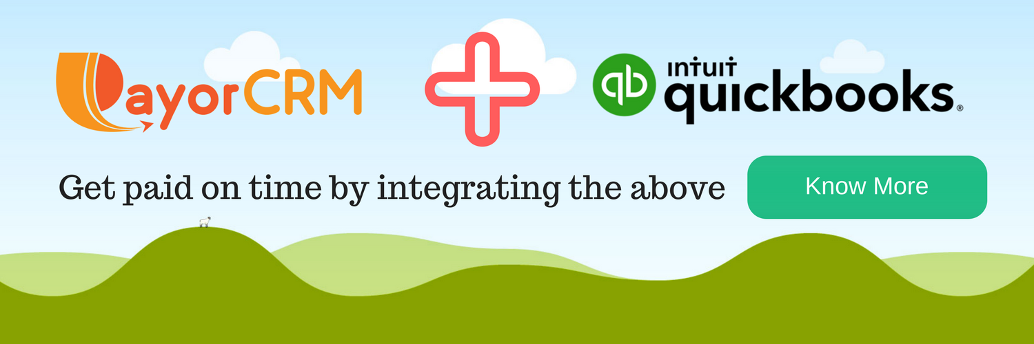 Connect PayorCRM with QuickBooks to get paid on time