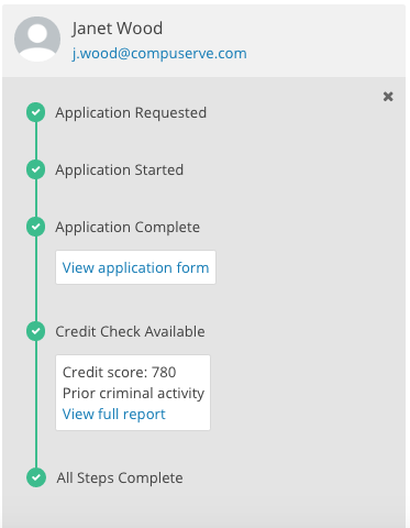 Rentalutions' Application Steps